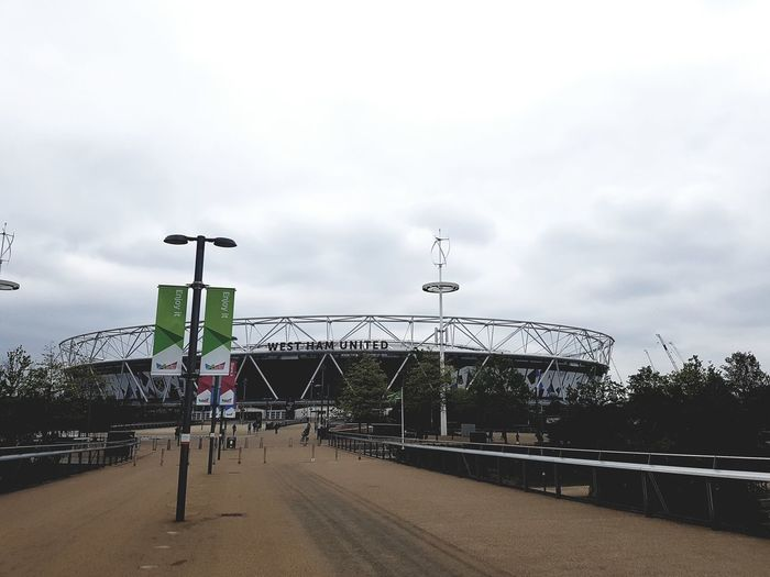 West Ham United Football Club - London Stadium UK 2017 2017 2017 Year 2017 Photo Great Britain LONDON❤ London London lifestyle Olympic Park  Olympic Stadium Queen Elizabeth Olympic Park United Kingdom West Ham Utd Architecture Building Exterior Built Structure Cloud - Sky Day Football Stadium London Stadium London_only No People Outdoors Sky Transportation Tree
