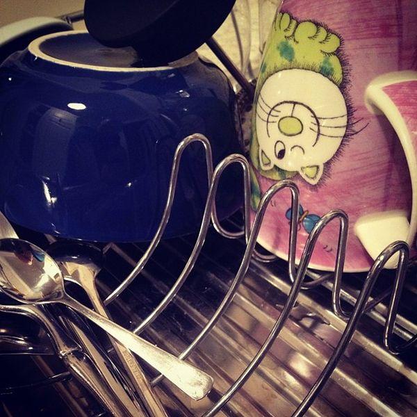 Das bisschen #haushalt mach' ich doch mit links #dish #washing Washing Dish Haushalt