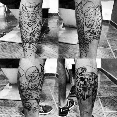 Tattoo Guarulhos Skateboarding by Bktattoo rap .reggae.atc...