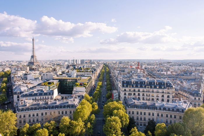 Eiffel Tower Effiel Tower Paris EyeEm Selects Architecture Built Structure Cityscape Building Exterior High Angle View Travel Destinations
