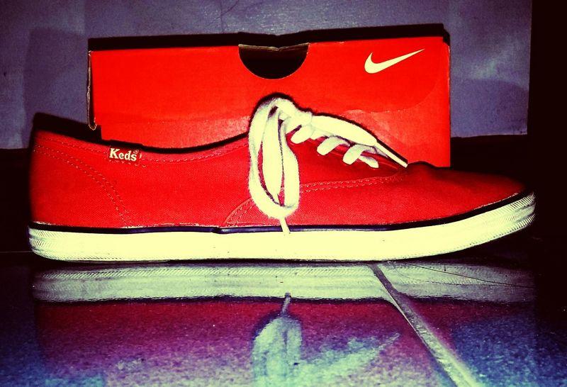 Shoe Box,shoe lace,nike run,kedstyle,orange