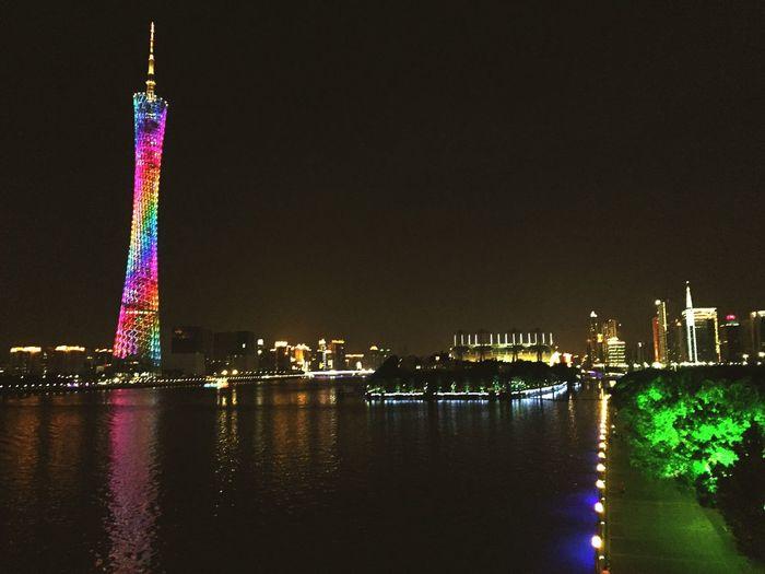 Guangzhou Small Waist Hello World Taking Photos