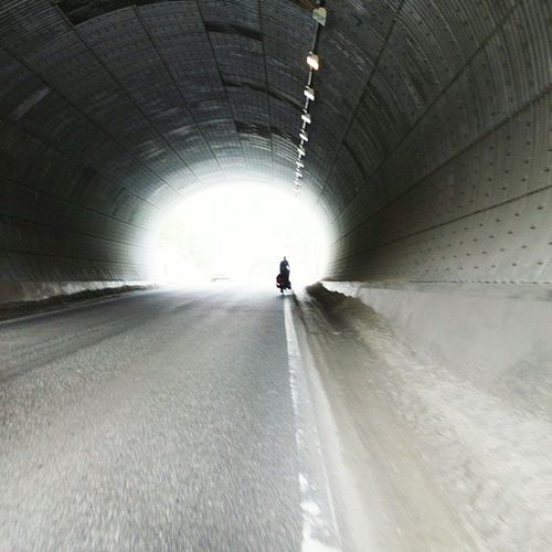 Tunnel Light Tierradelfuego Patagonia Argentina Southamerica Ruta3