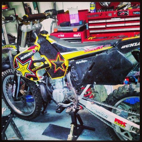 Suzuki Rm250 Makita Motocrossporn mx dirtbike bike bikestagram motorbike rockstar monsterenergy monster