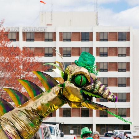 Springfieldmo Springfield Street Photography Dragon Parade St Patrick's Day Ozarks