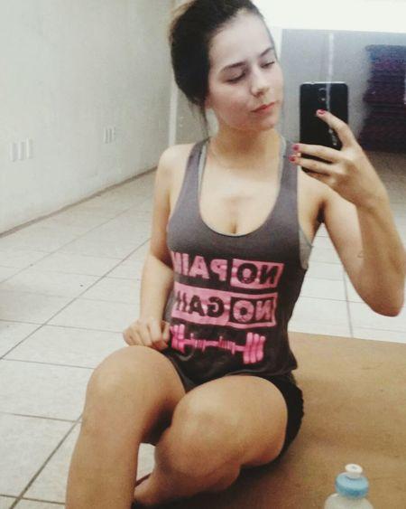 A melhor coisa é você fazer algo por você! Saúde Musculaçao Fitness MeSintoBem Hulk Nutrition Suplementosalimentares Girl Academia 😍💪💦