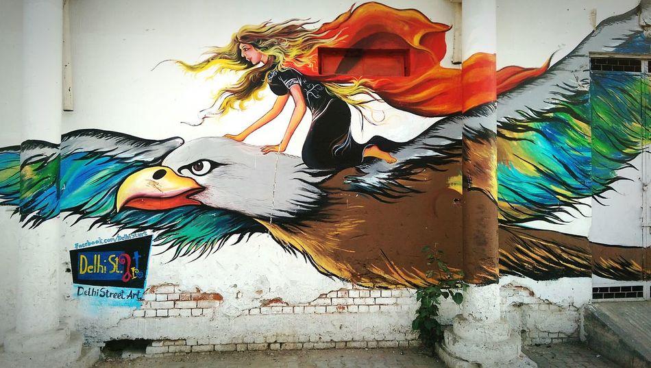 New Delhi Delhi Streets Delhi Streetart HTC_photography Htconem8 Htc One M8 PhonePhotography Art Streetpainting