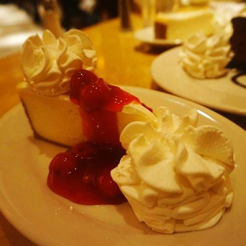 Cheesecakefactory Cheese Cake Cherrycheesecake