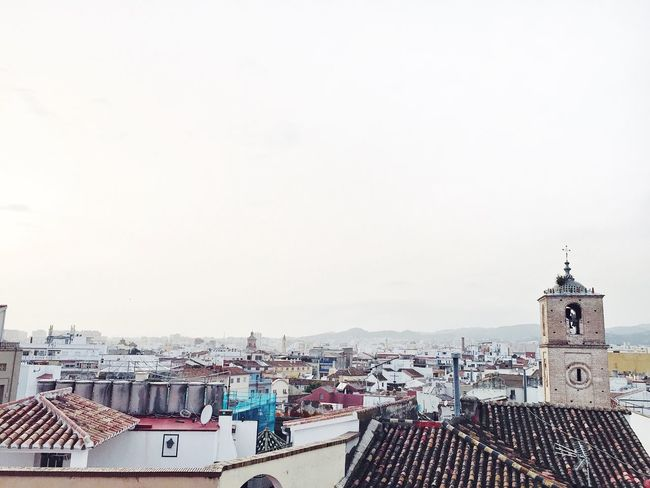 On top of Malaga City Cityscape No People Travel Destinations Outdoors SPAIN Malaga Málaga,España Andalucía First Eyeem Photo CostadelSol Rooftop Roof Sunset Photography IPhoneography Photograph Nature
