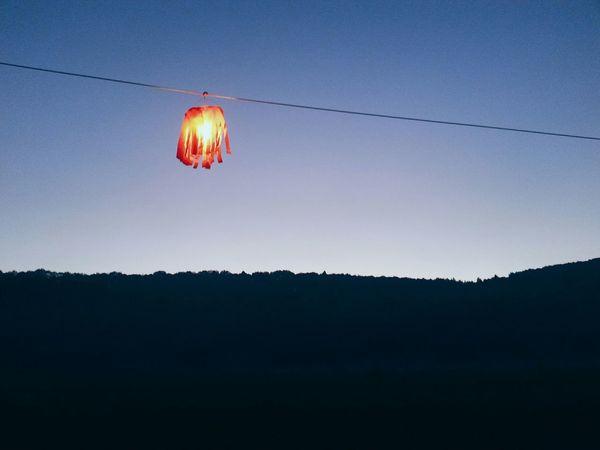 Lantern Festival Night Sky Silhouette Forest Mysterous фестиваль Бытьдобру Тула Алексин