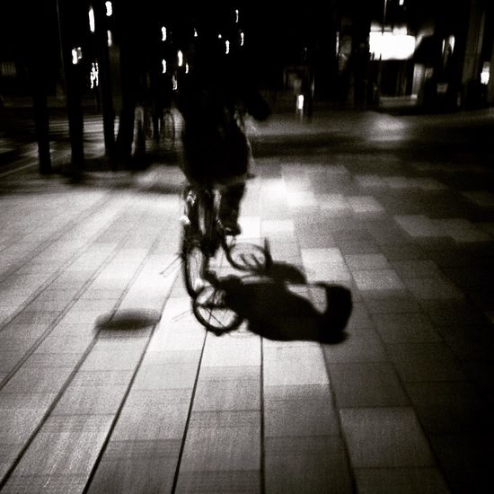 Streetphotography Street Photography Black & White Light And Shadow Nightphotography Bike