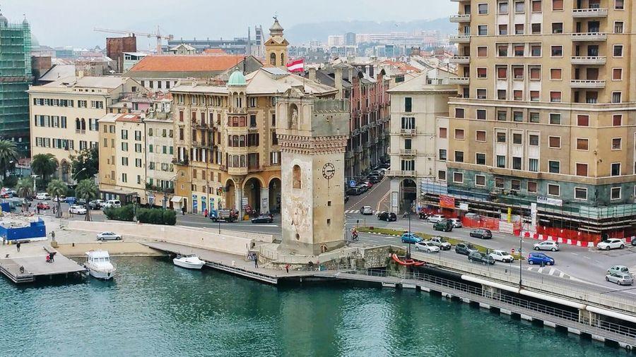 Porto Savona  Genova Pegli Italia