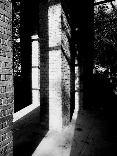 sunlight Blackandwhite Brink Wall Sunlight Blackandwhite Photography Outdoor Photography Black And White Shades Of Winter An Eye For Travel EyeEmNewHere Business Stories The Graphic City