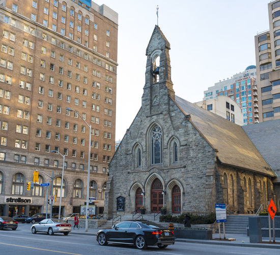 Toronto Church of the Reedemer in downtown Bloor Street. The old parish is a tourist landmark and it attracts youth by offering Christian rock music concerts from time to time. Architectural Architectural Contrasts Architecture Architecture Bell Tower Bloor St. Bloor Street Built Structure Catholic Church Church Of The Reedemer Contrasts Day Historic Old Old Buildings Outdoors Reedemer Sightseeing Sightseeing Tour Toronto Toronto Canada Tourism Travel Urban Geometry