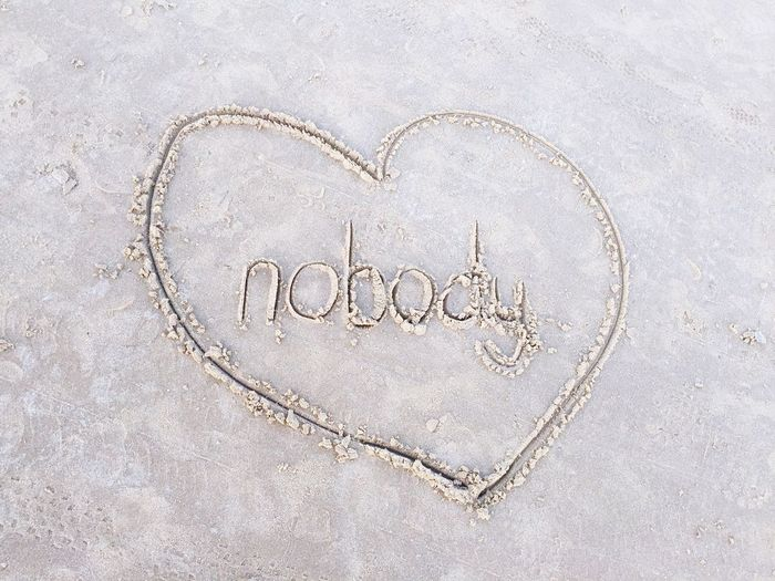 Nobody loves me Heart Beach Beach Photography Beach Sand Beach Art Sand Art EyeEm Gallery Love Hurts... Nobody Loves Me .. South Padre Island Beach