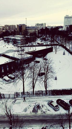It's Cold Outside Belarus Minsk Zakharova St