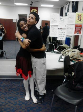 My Bestfriend & I :] this kid right here? Everyone thinks I'm his girl. HECKS NO. He's my day, he's my night, he's my hello, he's my goodbye, he's my brother, he's my bestfriend! As you can see we're total goofs. Me & him have our days, we have our ups &
