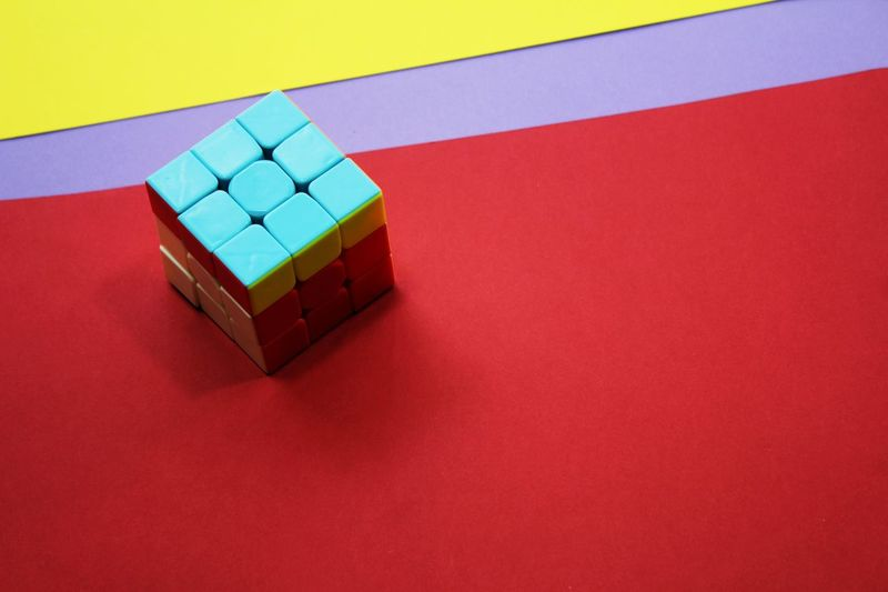 Red Multi Colored Stack High Angle View Studio Shot Toy Block Close-up Cube Shape Block Shape Cubicle Match - Sport Building - Activity Square Shape Dice Block Color Swatch Geometric Shape Puzzle  Rectangle Shape
