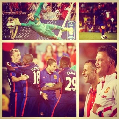 They look promising this season... GGMU ManUtd Lvg Giggs thisishowwedoit Epl champions wethebest killedit MUtour football