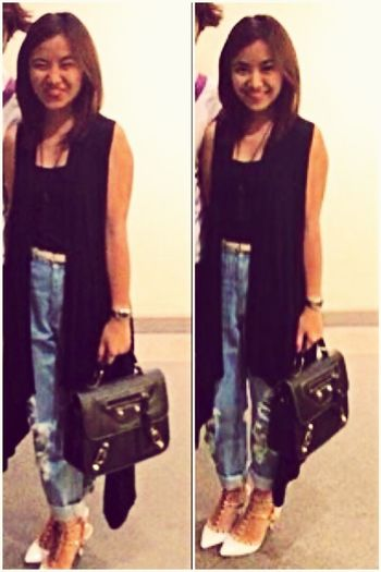 OOTD♥ Satchel Bag Valentino Shoes