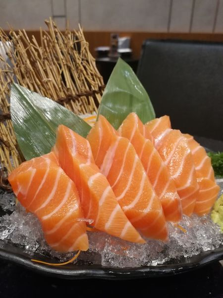 Sasimi Sasimi Fish Salmon Sashimi SalmonLove Salmon Dinner First Eyeem Photo