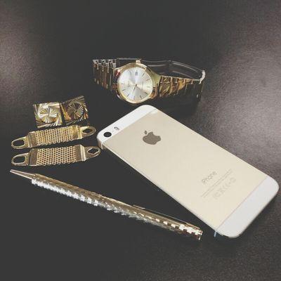 Gold Iphone5sgold Cufflink BeSpoke