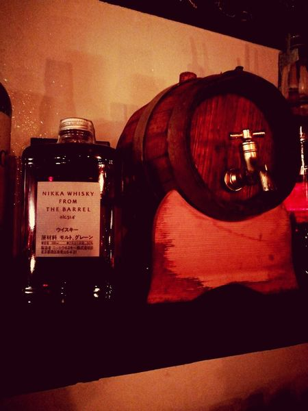 Old-fashioned Drink Whisky NIKKA Whisky Aged Wood Barrel Pure Water Rovere Oak Glass Speakeasy