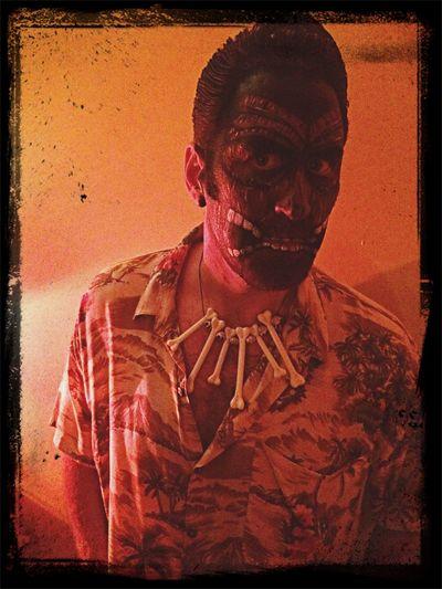 Hell-o-ween Halloween Tiki Halloween Horrors