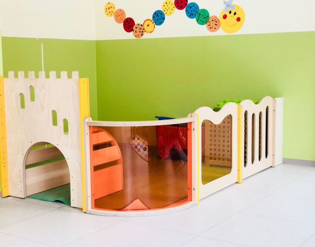 Kindergarden Room Kindergarten EyeEm Selects No People Multi Colored Architecture Indoors  Day Table Arrangement Built Structure Decoration