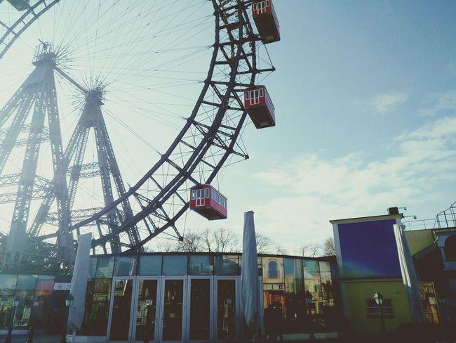 Outdoors Ferris Wheel Cloud - Sky Day