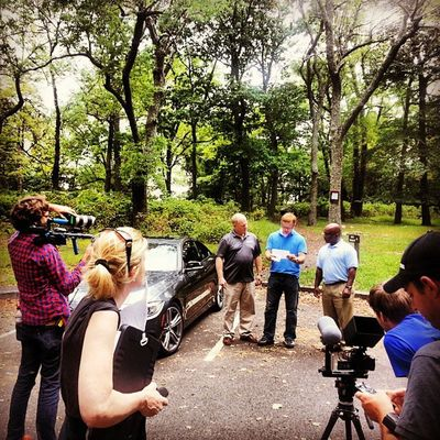 UN4gettable shoot- day 3, the @NCC_BMW_CCA @BMWCCA gents get their assignment @bmwusa Bmw 435i @roadandtrack @caranddriver