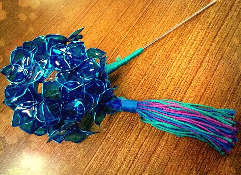 あじさいかんざし ハンドメイド 手作りアクセサリー Handmade Accessories Handmade