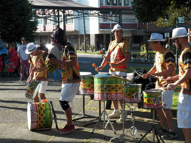 Drum Drummers Music Rithm Batucada Drums Group Of People Musicians