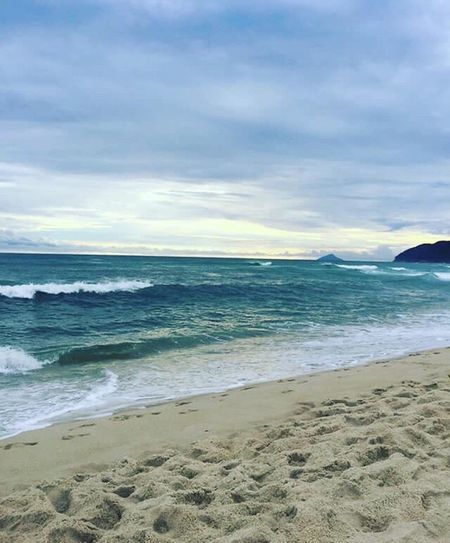 Calmaria! 🌊 Sea Beach Water Beauty In Nature Nature Wave Nofilter Praia Maresias Saosebastiao Natureza