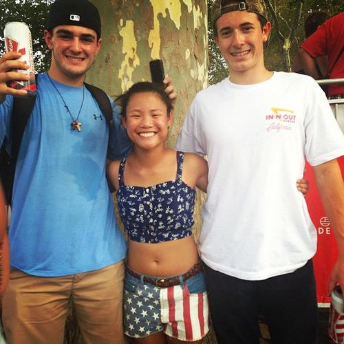 Theboys Beers Madeinamerica Phillylife festival americanShorts outfit