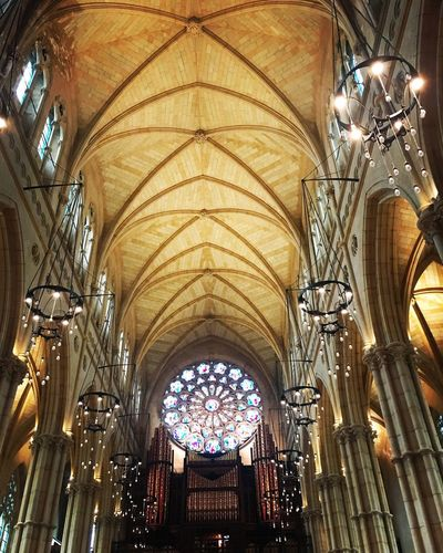 Catholic Round Window Cathedral Arundel Architecture History Ceiling Religion Place Of Worship Arch Indoors  Destinations No People