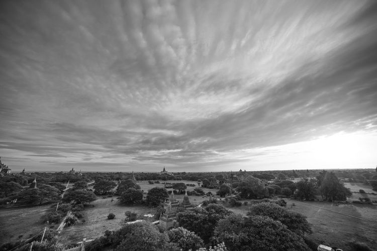 Just love the clouds Landscape Monochrome Photography Scenics Sky Beauty In Nature Cloud - Sky Horizon Over Land Outdoors Wide Shot Atmosphere Travel Nature Countryside Tranquility