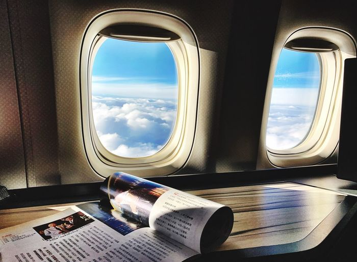 Chinalines Window Vehicle Interior Sky Mode Of Transportation Airplane Glass - Material Day Nature Air Vehicle Transparent Sunlight Transportation Cloud - Sky No People Water Indoors  Public Transportation Travel My Best Photo
