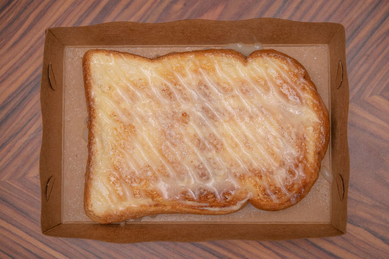 toast bread with sugar and sweetened condensed milk Breakfast Toasted Bread Bread Dessert Food Bakery Butter Delicious Sugar Snack Sweet Food Milk