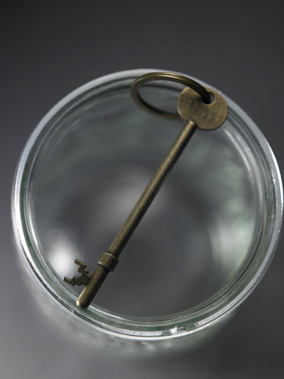 key in the empty jar Antique Black Background Container Rustic Security Close-up Galss Jar Glass Indoors  Key Key Of Success No People Nobody Object Old Safety Saving Jar Secure Success Symbol Vintage Vitory Day