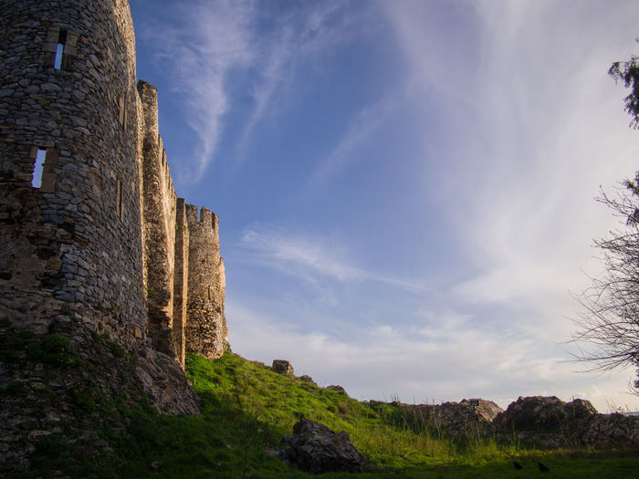 Castle Mamure in Anamur Turkey Castle Anamur Ancient Architecture Building Exterior Castle Cloud - Sky Day History No People Old Ruin Outdoors Sky Stone Wall The Past