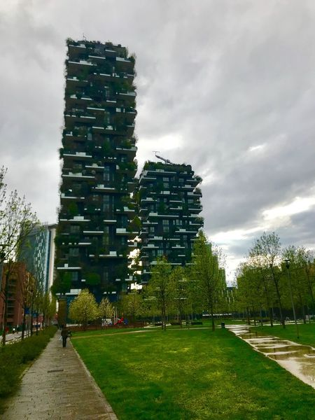 Urban Green Urban Skyline Vertical Forest Bosco Verticale Boscoverticale Architecture Building Exterior Modern Architecture Modern Travel Destinations Travel Italia Italy Milan Milano