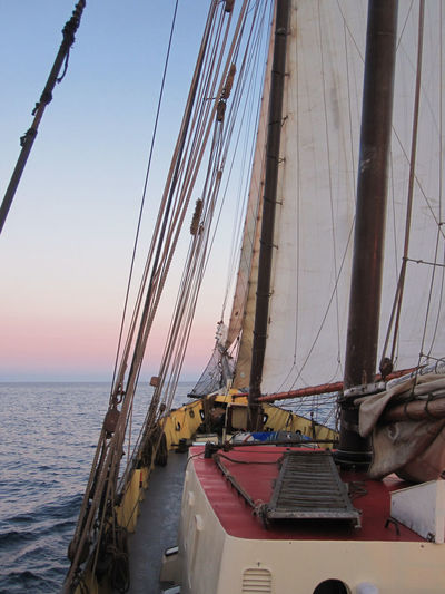 Sailship in the