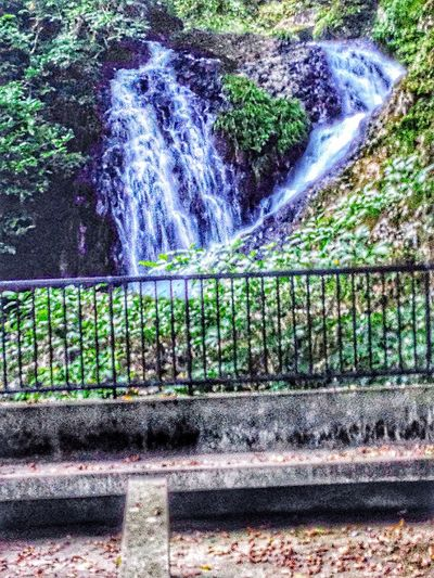 Beauty In Nature Outdoor Photography Nobody Around Flowing Motion Blur Rock Formation Waterfall Park Mountains And Valleys For I Grew Up The Mountains Tranquility Creekside Trail Alwaysaventurous In The Forest Waterfall #water #landscape #nature #beautiful Japan Scenery In Nagasaki, Perfecture