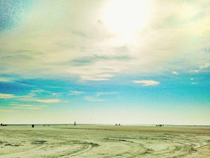 Beachphotography Landscape Blue Beach Florida Fort Myers United States