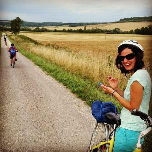 Beautés bourguignonnes : Touristes , Canaris sur la Veloroute du Canaldebourgogne . Un pti tour de vélo de Tonnerre à Venarey en passant par l OT Montbard velibourgogne