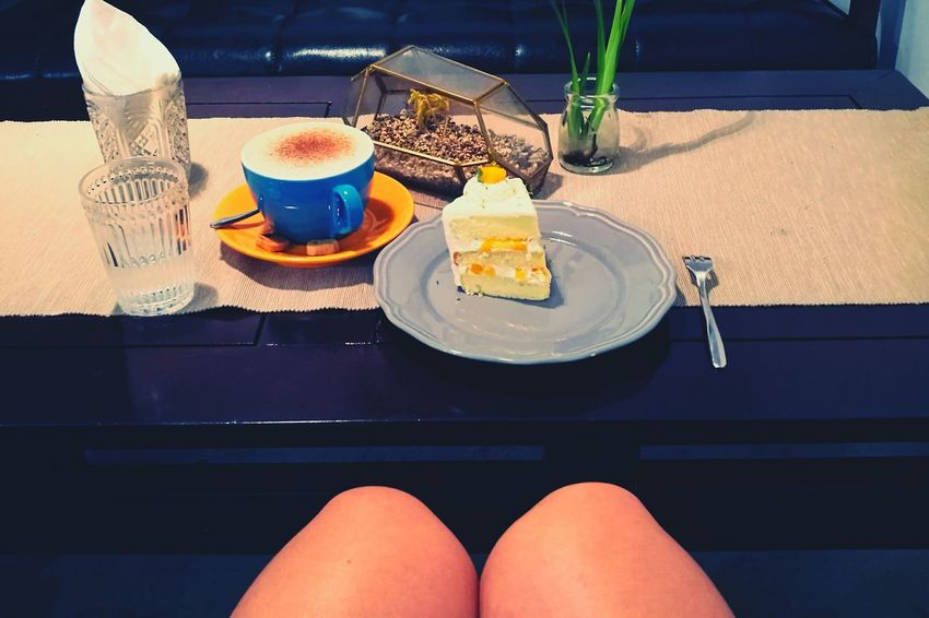 Tea Time Mango Cake 大人的甜點