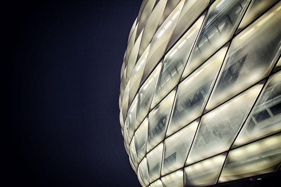 Allianz Allianz Arena Bayern BayernMunich Hanging Indoors  Light Soccer Stadium Stadiums
