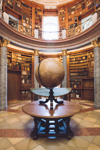 Knowledge Abbey Antic Architecture Books Bookshelf Business Canon DSLR Earthglobe Education EyeEm Best Shots EyeEm Gallery Full Length Globe History Hungary Indoors  Knowledge Landscape Library Magic No People Old Buildings Pannonhalma Priest
