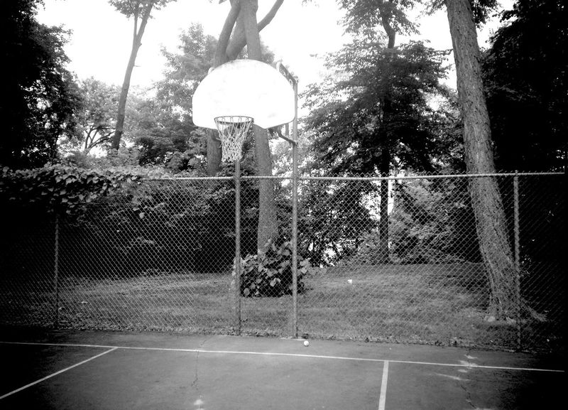QVHoughPhoto Minnesota Outdoors Basketball Basketballhoop Blackandwhite IPhoneography IPhone4s